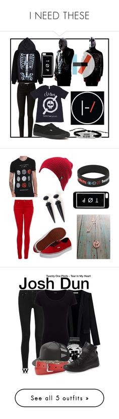 """""""I NEED THESE"""" by raynexofxdeath ❤ liked on Polyvore featuring Vans, Paige Denim, Volcom, rag & bone, Joseph, Gucci, Converse, music, wearwhatyouwatch and Miss Selfridge"""