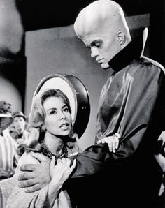 """The Twilight Zone: """"To Serve Man"""" [1962] """"Please, Mr. Chambers... Eat. We wouldn't want you to lose weight."""""""