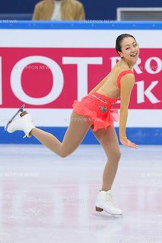 Mao Asada (JPN), .DECEMBER 7, 2012 - Figure Skating : .ISU Grand Prix of Figure Skating Final 2012/2013 .Women's Short Program .at Iceberg Skating Palace, Sochi, Russia. .(Photo by YUTAKA/AFLO SPORT) [1040]