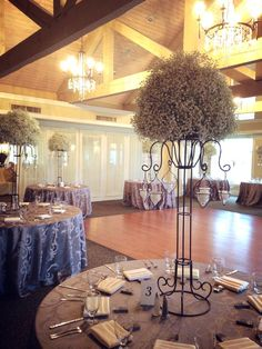 Tall floral centerpiece| classy weddings| south jersey weddings