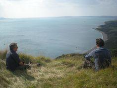 Dorset coast - Gordon and Ian