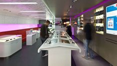 Interior Design: Virgin Mobile Retail Store | Australian Design Review