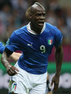 Mario Balotelli is an Italian footballer who plays as a striker for Manchester City and the Italy national team.