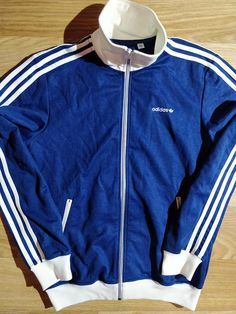 Details about Adidas Originals Cuba 3 Rayas Chaqueta de pista de fútbol Track Top Jacket sz XL