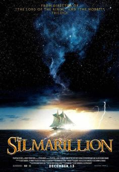 El Silmarillion - fanposter, sigh, if only, come on Christopher Tolkien!