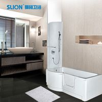 walk in tub shower combo with seat bathtub