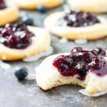 Quick and easy Blueberry Danish with a sweet cream cheese filling using canned biscuits. Mayonnaise, Brie, Baguette, Blueberry Danish, Toast Toppers, Apple Pie Bites, Spiced Wine, Blueberry Compote, Canned Biscuits