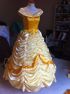 Ball gown from Disney's Beauty and the Beast. Belle dress.  Belle costume  Rental information: http://www.cytfredericksburg.org/programs/COSTUME-RENTALS-9