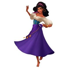 Esmeralda ❤ liked on Polyvore featuring disney, characters and princess