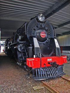 New Zealand Railways ex K900 Locomotive - Motat, Auckland, New Zealand