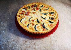 Cukkinis paradicsomos pite   Vera receptje - Cookpad receptek Mozzarella, Vegetable Pizza, Quiche, Muffin, Vegetables, Breakfast, Recipes, Food, Drink