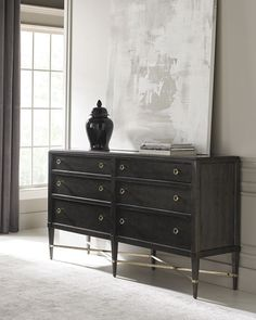 Shop Masterpiece Dresser from caracole at Horchow, where you'll find new lower shipping on hundreds of home furnishings and gifts. Caracole Furniture, Bedroom Furniture, Kitchen Furniture, Bedroom Decor, Bespoke Furniture, Luxury Furniture, Bedroom Ideas, Armoire, Six Drawer Dresser