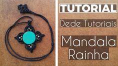 Dede Tutoriais ॐ Como fazer a Mandala Rainha #28