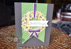 More Color for Your Wondrous Wreath by Chris Slogar - Cards and Paper Crafts at Splitcoaststampers