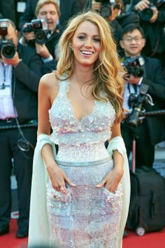 Blake Lively Opts For Chanel's Now Famous Cynched-In Waist | Cannes Film Festival 2014 | Marie Claire