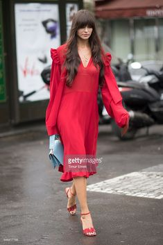A guest seen in the streets of Paris during Haute Couture F/W 2016/2017 on July 3, 2016 in Paris, France.  (Photo by Timur Emek/Getty Images)