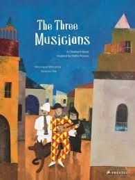 The Hardcover of the The Three Musicians: A Children's Book Inspired by Pablo Picasso by Veronique Massenot, Vanessa Hie Art Books For Kids, Childrens Books, Art For Kids, Kid Books, Story Books, Pablo Picasso, Art Lessons Elementary, Elementary Music, Classe D'art