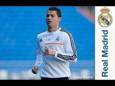 Youtube El Real Madrid se entrenó en el Santiago Bernabéu de cara a la Copa del Rey