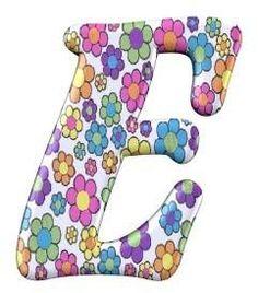 FLORES Y LETRAS PARA DECOUPAGE (pág. 289) | Aprender manualidades es… Printable Alphabet Letters, Alphabet Letters Design, Alphabet Templates, Cute Alphabet, Alphabet Print, Monogram Alphabet, Alphabet And Numbers, Animal Letters, Decoupage