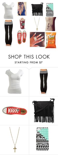 """""""going out"""" by lupitagee21 ❤ liked on Polyvore featuring Wet Seal, Forever 21, Converse, Cut N' Paste, Dorothy Perkins and Charlotte Russe"""