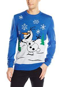 Disney Men's Olafs Holiday Sweater, Royal, X-Large Disney http://www.amazon.com/dp/B013RZSY48/ref=cm_sw_r_pi_dp_zuHzwb16EGFT1