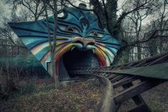 Abandoned amusement park. Berlin, Germany Spreepark Plänterwald  Kiehnwerderallee 1 12437 Berlin Germany Phone number +49 30 115