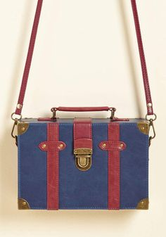 ModCloth Post-Grad Poise Bag in Navy