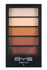 Eyeshadow 5 Piece Naturals from BYS cosmetics The 5 shades have a lightweight formula that easily blends and comes with a applicator
