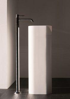 Floor standing single handle washbasin mixer PAN | Floor standing washbasin mixer by ZUCCHETTI
