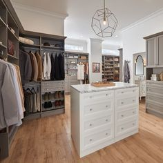 You deserve a closet designed for your needs, not for everyone's.   Read on our blog about how you can create your custom, professionally installed dream closet with the help of our newly redesigned website, CustomClosetMaid.com.   #BedroomCloset #DreamCloset #HomeOrganization #InteriorDesign #ClosetMaid Custom Closet Design, Custom Closets, Master Closet, Closet Bedroom, Closet Storage Systems, Closet Remodel, Dream Closets, Drawer Fronts, Home Organization