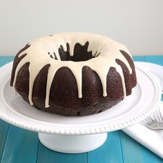 Sourdough Chocolate Bundt Cake (Only change I made to this recipe was to add a cup of buttermilk - it was amazing!)