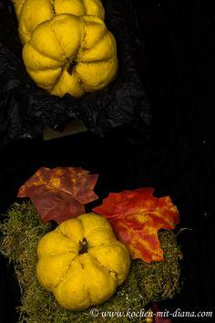 Kochen mit Diana/ Cooking with Diana: Kürbis Brötchen/ Pumpkin buns