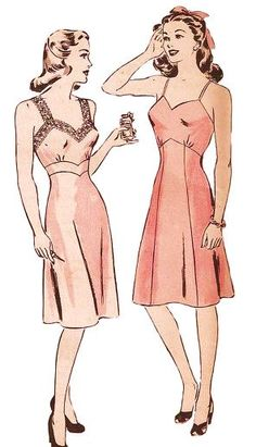 From the early to mid 1940s, this un-printed pattern #1473 by Hollywood Pattern…