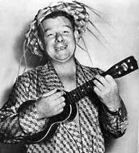 Arthur Godfrey, quite a good Ukulele player!
