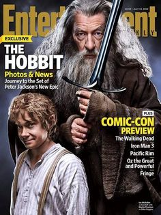 THE #HOBBIT Entertainment Weekly Cover