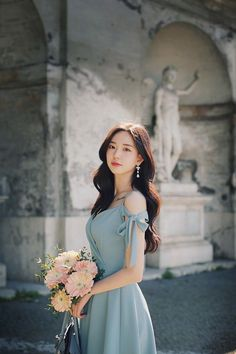 Korean Fashion – How to Dress up Korean Style – Designer Fashion Tips Casual Party Dresses, Cute Dresses, Short Dresses, Prom Dresses, Ulzzang Girl, Beautiful Asian Girls, Asian Fashion, Asian Beauty, Trendy Outfits