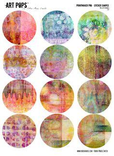 ART POPS™ Sticker Shapes - Printmaker Pro Collection – Roben-Marie - THE SHOP