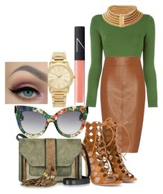 """""""eden"""" by zzzasha ❤ liked on Polyvore featuring Opening Ceremony, Bailey 44, Gianvito Rossi, Balmain, L'Autre Chose, NARS Cosmetics and Michael Kors"""