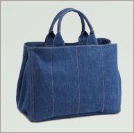 dark blue jeans denim handbag