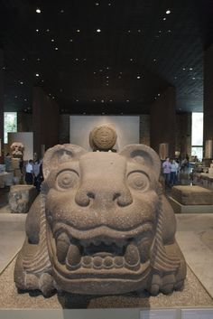 The National Museum of Anthropology in Mexico City contains one of the world's largest collections of archaeological and anthropological artifacts from prehispanic Mayan civilizations