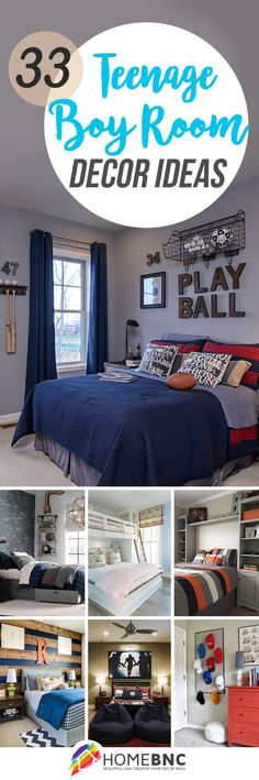 Teenage Boy Room Design Ideas
