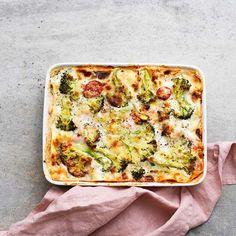 Broccoli- och mascarponelasagne | Recept ICA.se