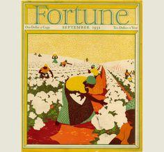 Fortune, September 1931, Cotton Picking