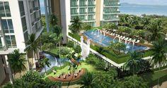 Luxus condo Pattaya.uima-allas