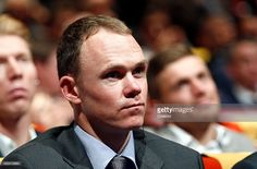 British cyclist Christopher Froome attends the presentation of the Tour de France 2016 on October 20, 2015 in Paris, France. The 103rd edition of the Tour de France cycling race will start on 02 July from the Mont Saint-Michel and arrives in Paris on 25 July 2016.  #TDF2016 #rm_112