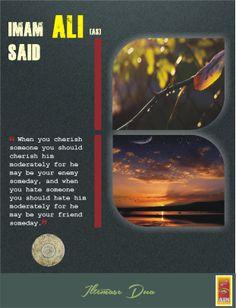 Saying Of Imam Ali [asws]