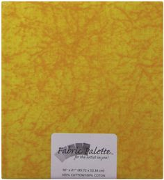 Novelty and Quilt Fabric Pre-Cut Yellow Texture #263