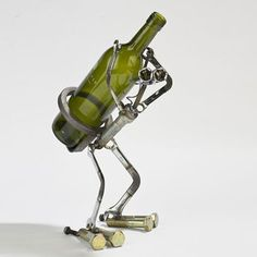 Wine Bot Statue