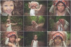 Two Little Indians | American Indian Girls Styled Photo shoot