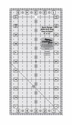 "Creative Grids 6 x 12"" Ruler"